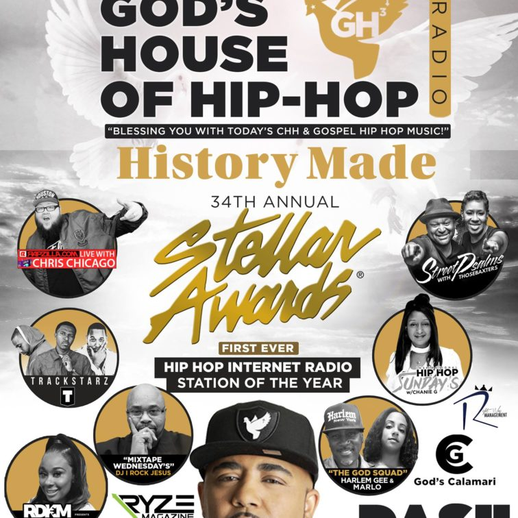 Congratulations to God's House of Hip Hop Win at the 34th Annual Stellar Awards